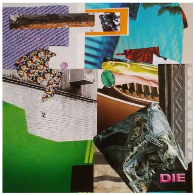 JAYPG the collage with DIE in it RED